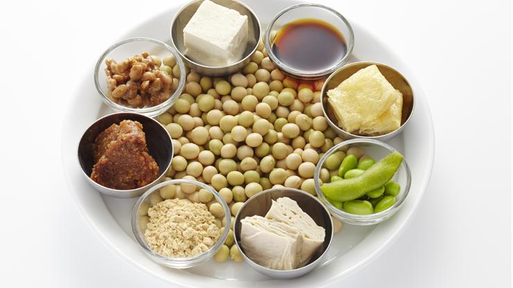 大豆食品で美肌